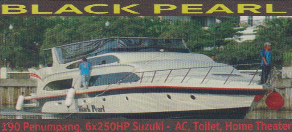 KM. Black Pearl - Kapasitas : 190 pax