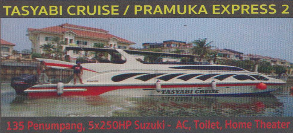 KM. Tasyabi Cruise - Kapasitas : 135 pax