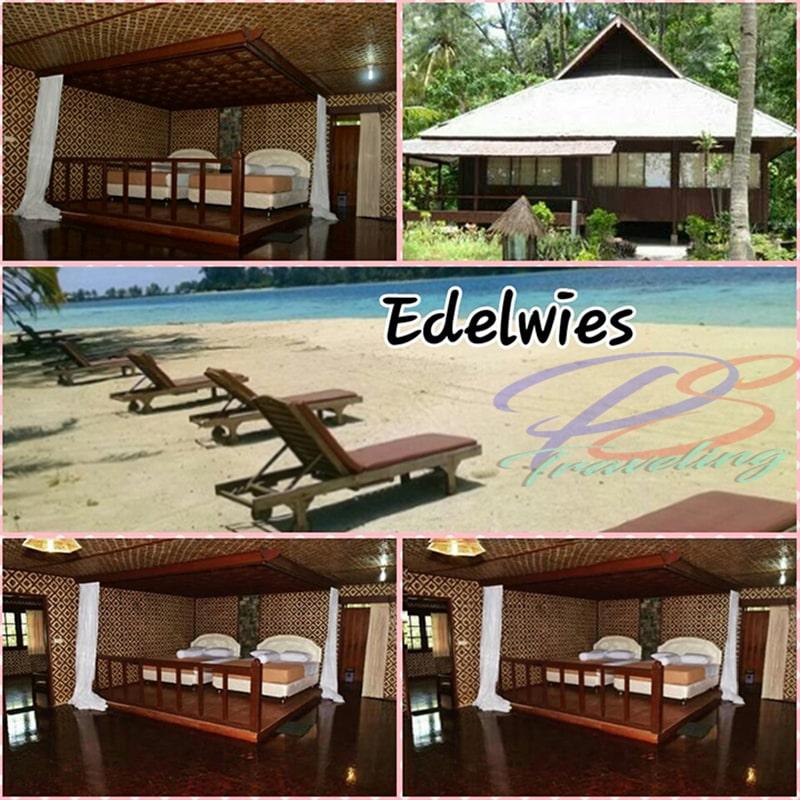 Penginapan Pulau Pelangi Kepulauan seribu tipe Edelweiss
