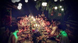 Momen pernikahan di Pulau Seribu