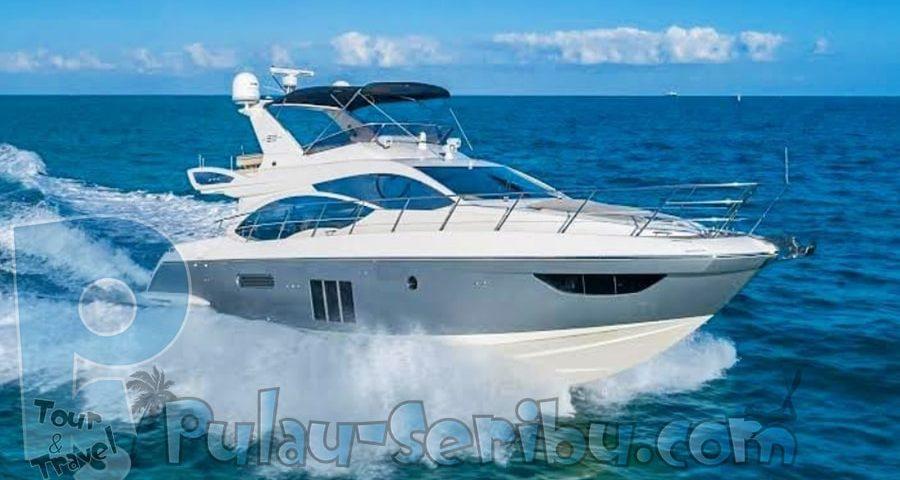 sewa boat Pulau Harapan