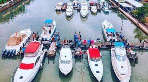 sewa boat Pulau Tidung
