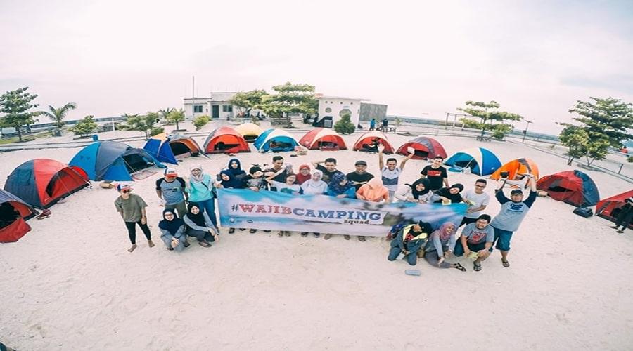 Spot camping Pulau Seribu