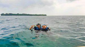 snorkeling di Pulau Bira