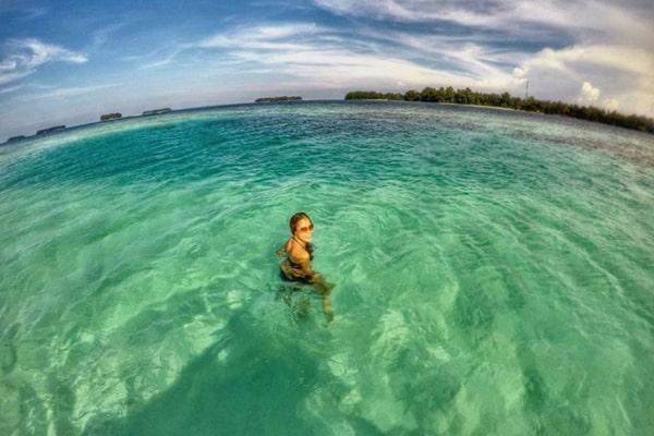 wisata pulau harapan snorkling